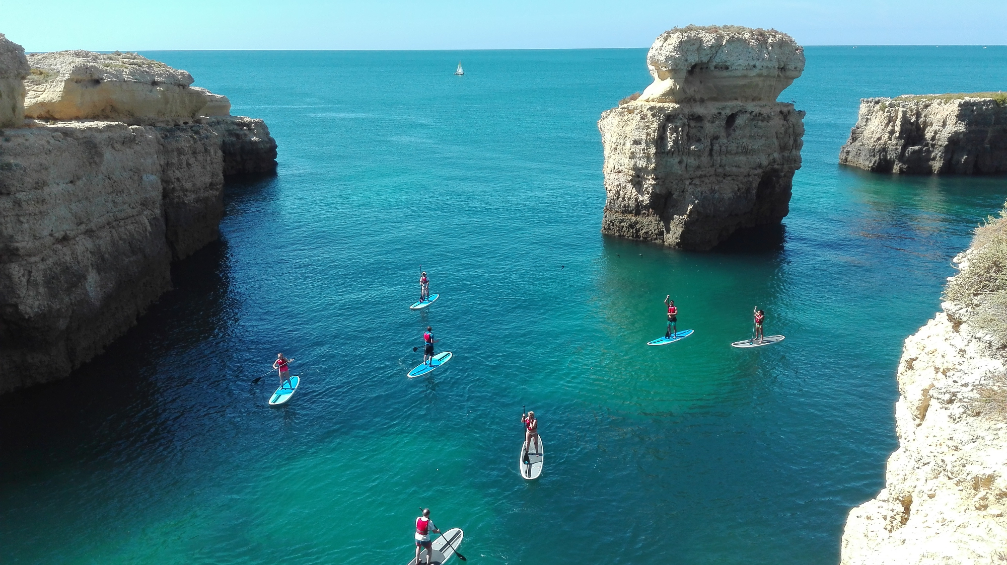 Vilamoura Paddle Board Cruise
