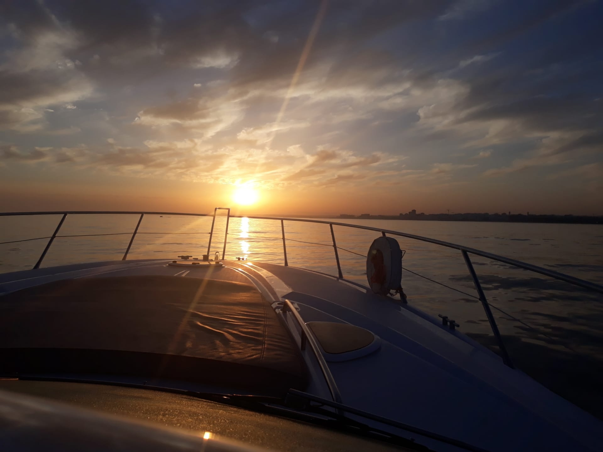 Sunset romantic cruise